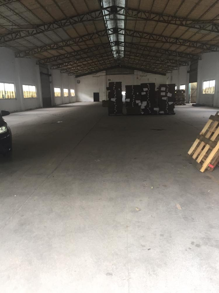 万江石美新出单一层砖墙铁皮厂房1500平米,宿舍办公500平