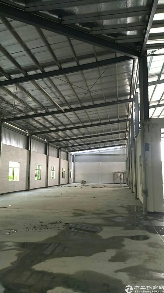虎门北栅高速公路出口附近新空出600平铁皮厂房可做铺面 仓库-图3