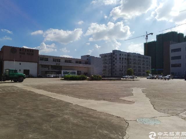 坪山坑梓7米高标准1楼厂房10000平米,可分租,空地超大