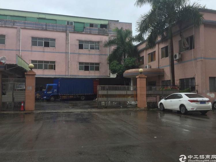 黄江镇公常路段靠高速2公里独门独院厂房出租