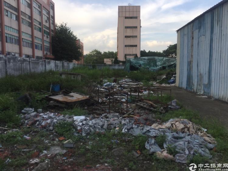 观澜桂花路边独院空地