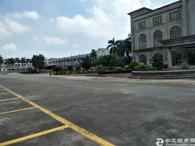 东莞市带牛角行车单一层厂房出售
