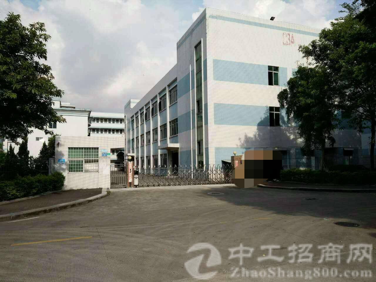 塘厦镇科苑城建筑 6500 ㎡国有证厂房出售