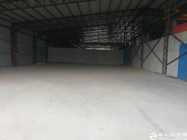 龙华清湖地铁轻轨站旁一楼880平厂房招租
