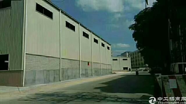 龙岗宝龙原房东全新独院仓库厂房  滴水8米 超大空地