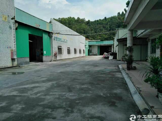 黄江镇靠公明单一层独院厂房11000平米招租