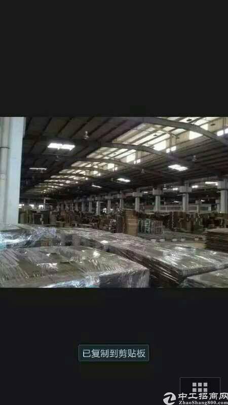 松岗高速出口旁500米范围内新出物流园仓库10000平米急租