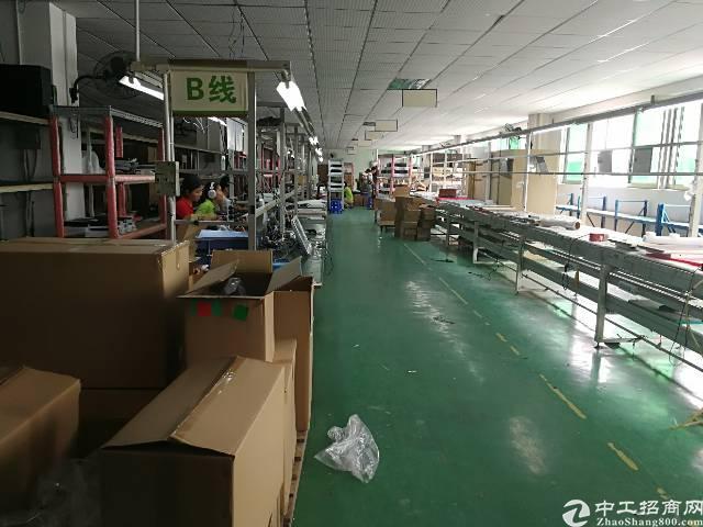 福永107带装修200平米厂房出租