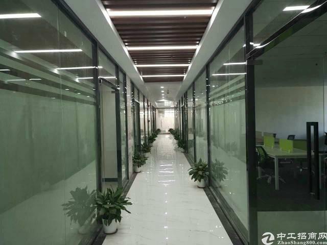 精装修写字楼500平,龙华区民治地铁站旁新出文化创意园