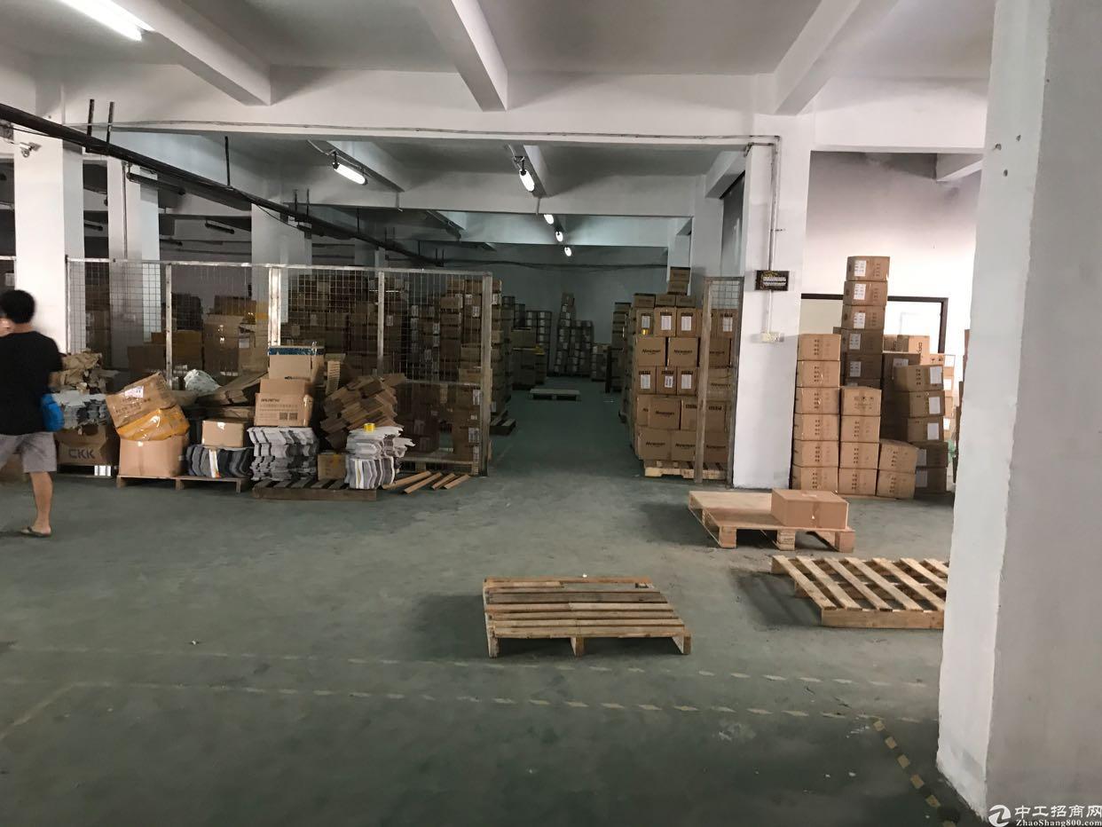 福永兴围107国道旁新出厂房一楼850平方米出租