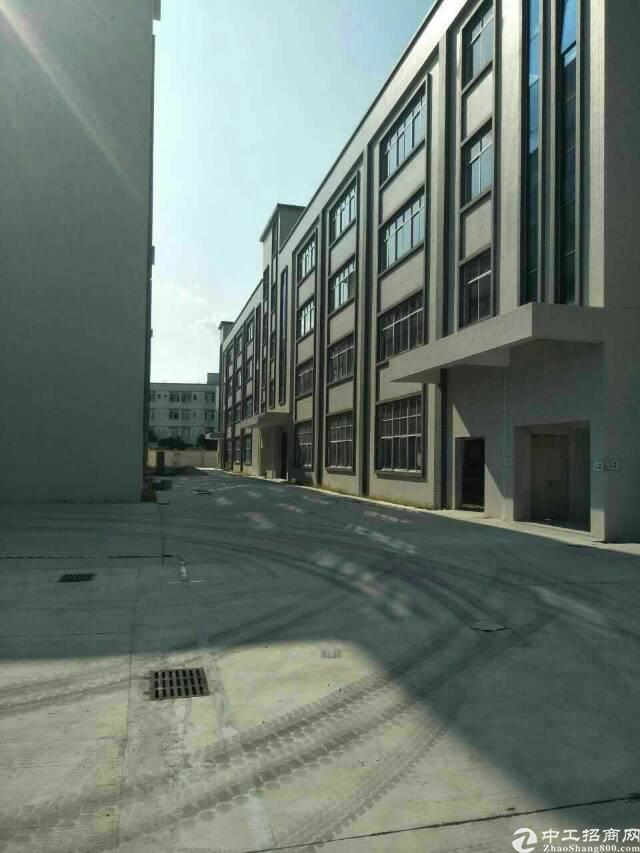 新出标准厂房5280,形象9成新,层高5.5米,独立饭堂