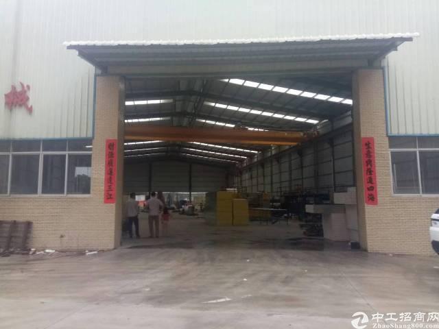 九成新钢构厂房面积1400电200宿舍按需租金14