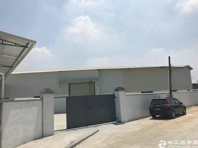 常平镇塑胶城附近新出单一层独门独院厂房2100平方