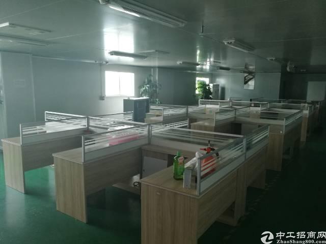 西乡1750平精装修厂房,租28,配套齐全,入驻即可生产,位