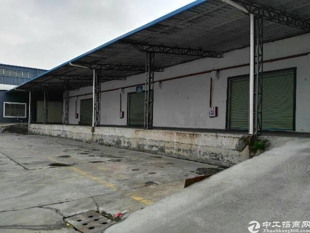 高埗镇独门独院带卸货平台单一层物流仓库出租
