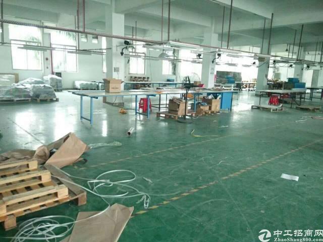 东城新出标准厂房二楼1500平方,现成地坪漆
