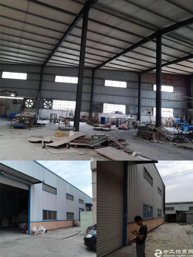 黄江10米高钢结构厂房1200平方,不可排水