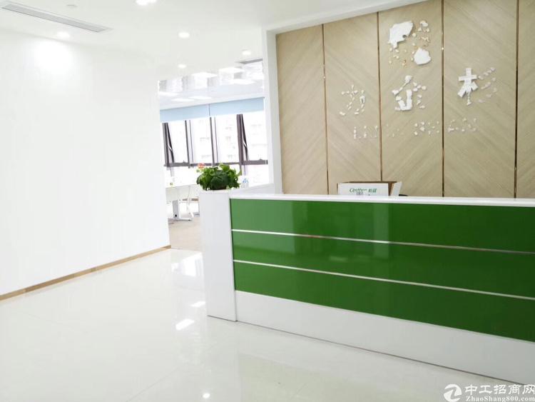 免费转租正中时代305平精装修办公室