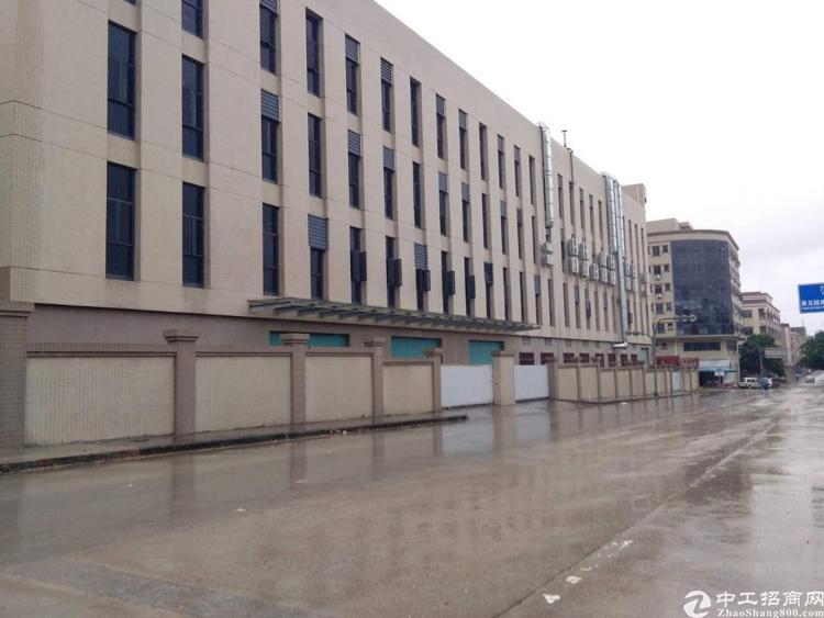 厚街三屯村新出5.5米高一楼厂房1500平方米