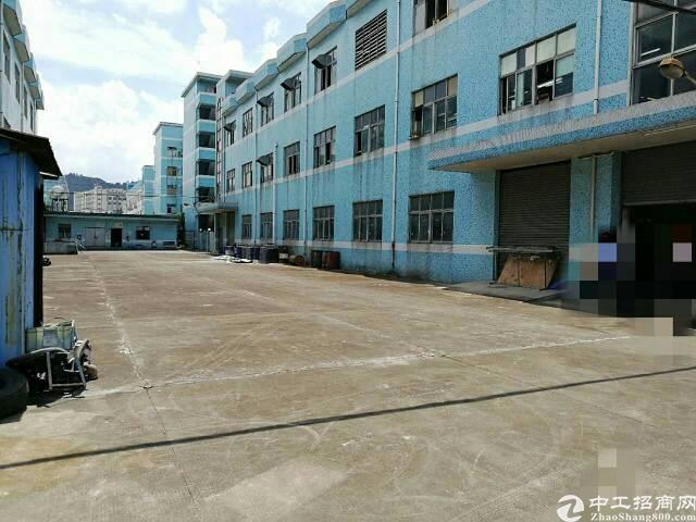公明南光高速口玉律村新出一楼1350平米空地大厂房