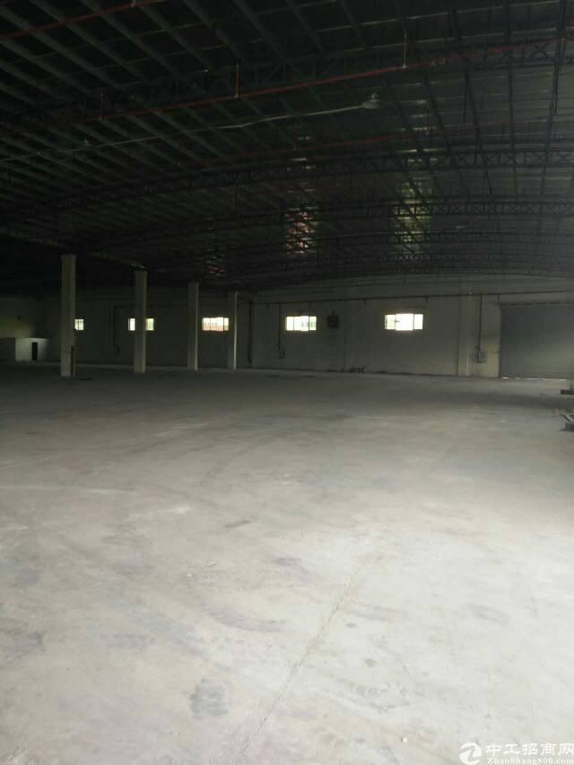 虎门高铁站附近高7米钢构现成的家具厂3000平有环评拎包生产