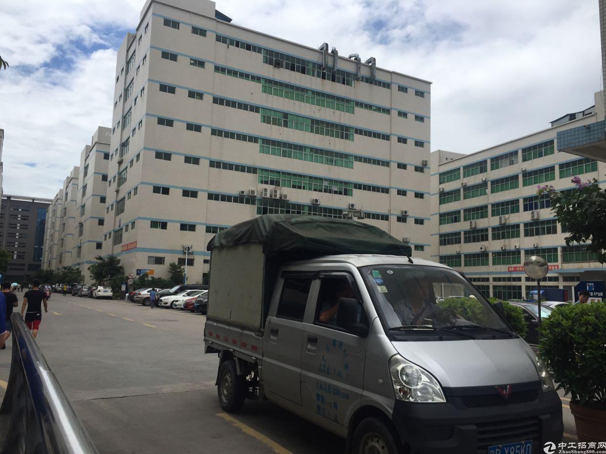 福永塘尾楼上1500平米带装修厂房出租