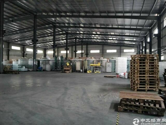 东莞市茶山镇新岀钢构厂房1300平方独门独院火爆招租