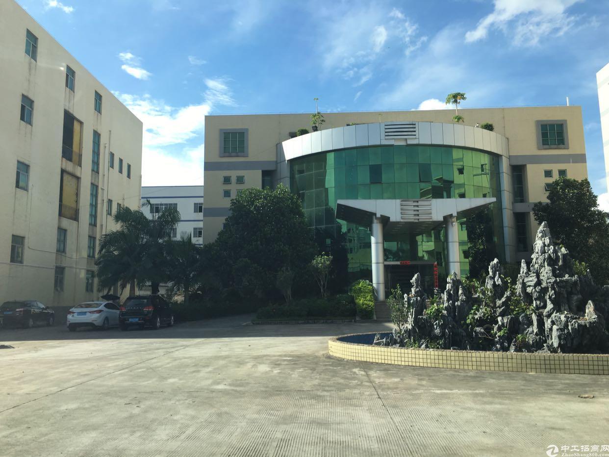 西乡南昌工业园带办公楼厂房11000平方、大小分租