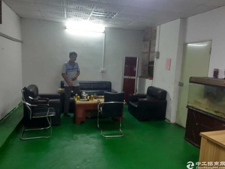 长安乌沙大润发旁新出楼上带办公室精装修厂房320平方招租