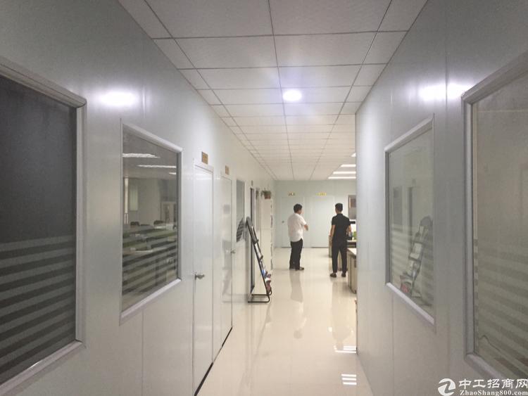 龙华油松工业园1楼带精装厂房860平招租-图2