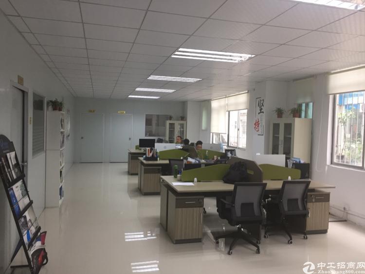 龙华油松工业园1楼带精装厂房860平招租-图5