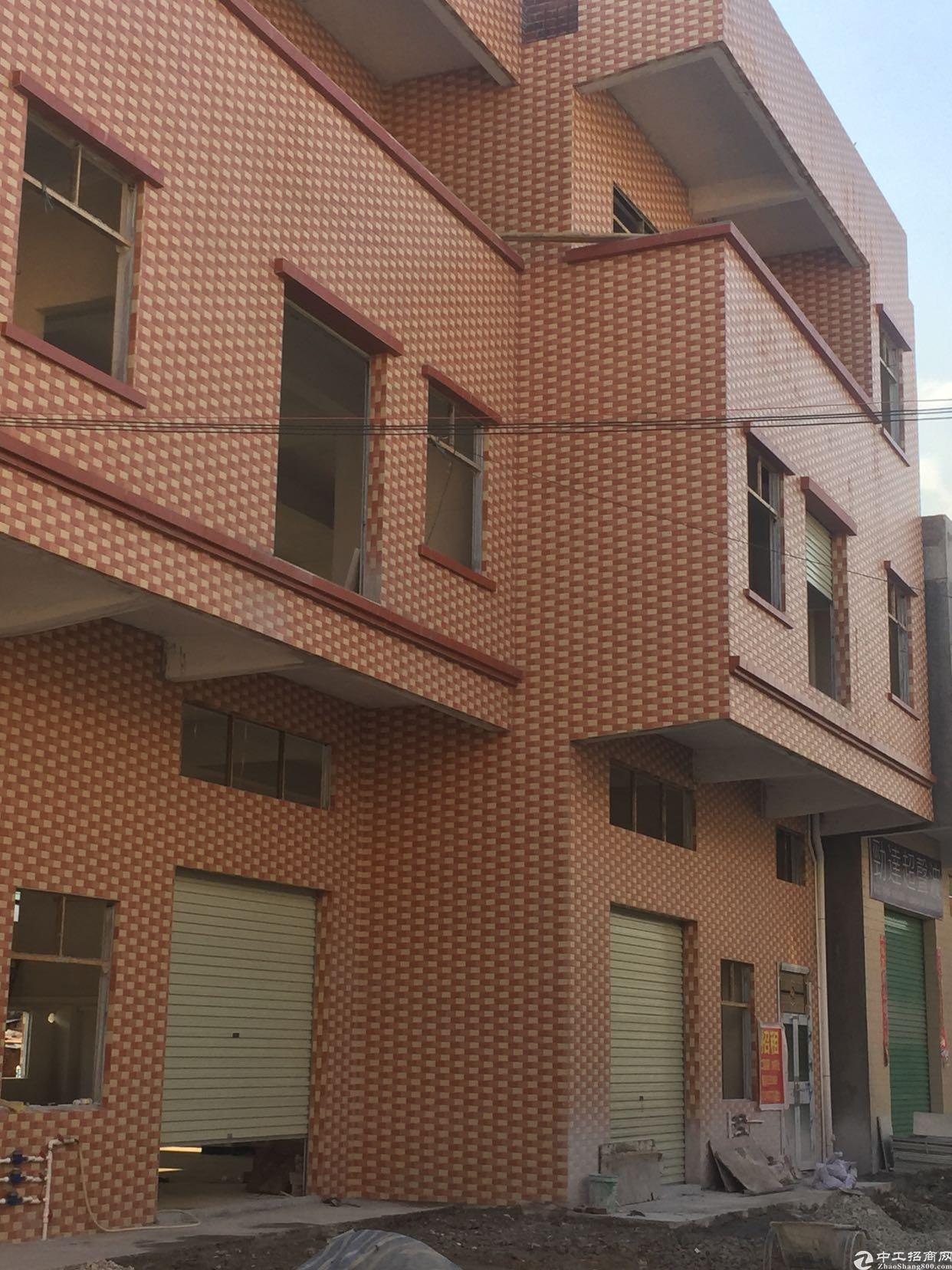大朗全新独栋小厂房800平方米出租