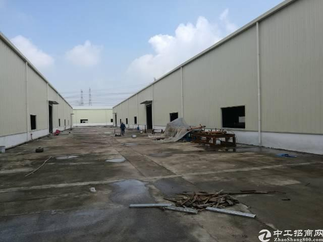 全新厂房20000平方,空地五千,交通六车道,