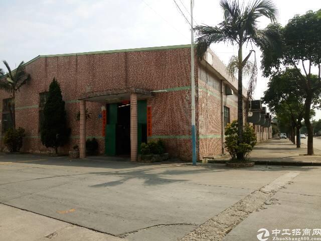 横沥三江工业区旁单一层厂房出租2000平方  滴水6米