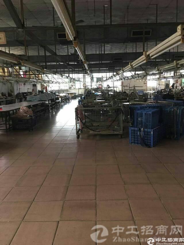 横沥镇新岀制衣厂三楼一整层1800平方