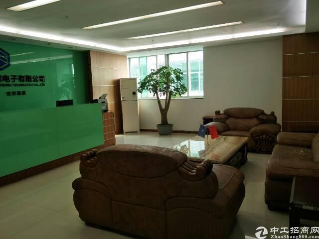 龙岗宝龙原房东楼上豪华装修厂房出租1900平米-图2