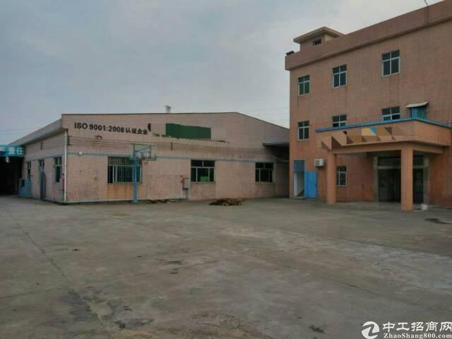常平镇有一个单一层砖墙到顶铁皮房厂房+宿舍办公楼5000出租
