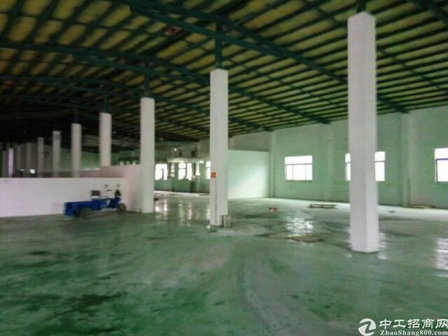 常平镇有一个单一层砖墙到顶铁皮房厂房+宿舍办公楼5000出租-图3