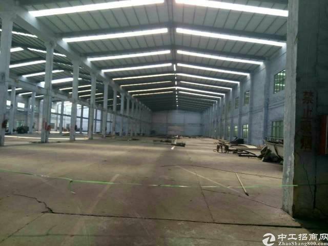 茶山镇单一层独门独院 厂房  面积6300平方,车间+宿舍+