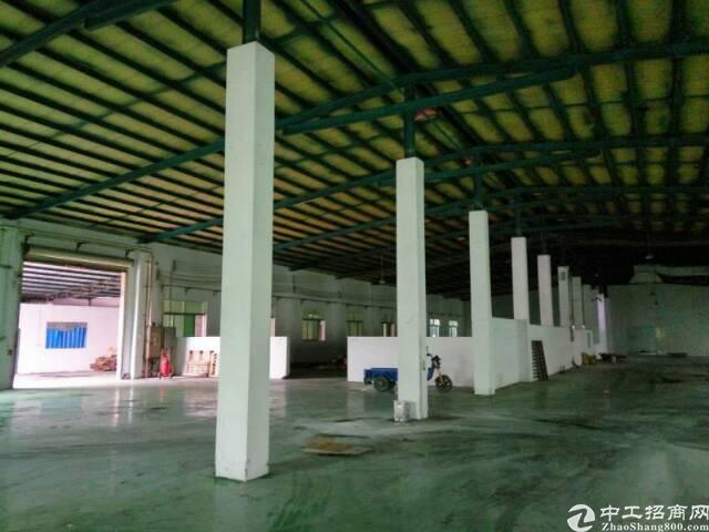 常平镇有一个单一层砖墙到顶铁皮房厂房+宿舍办公楼5000出租-图2