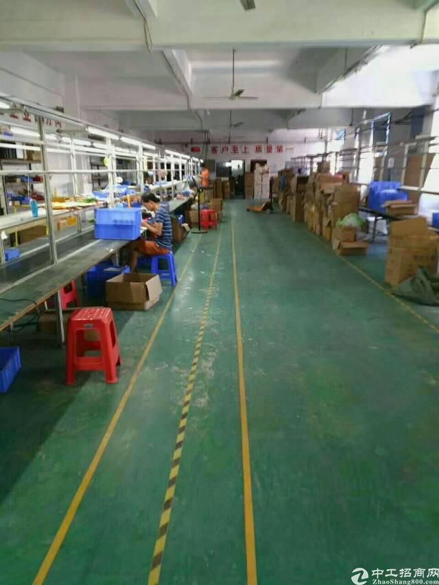 西乡固戍地铁站附近新出1300平方带装修厂房出租