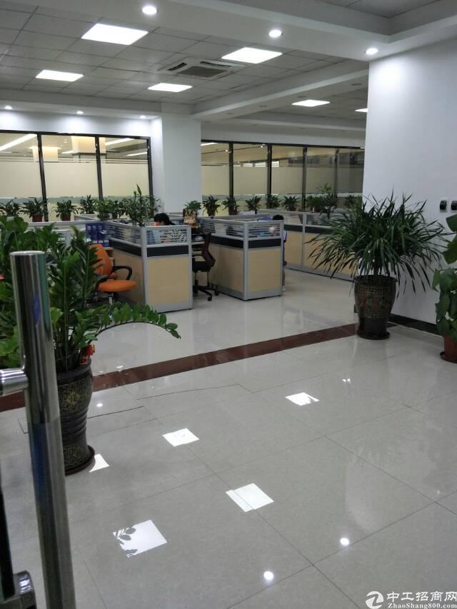 福永高新园区新空出2500平带装修免转让费厂房出租