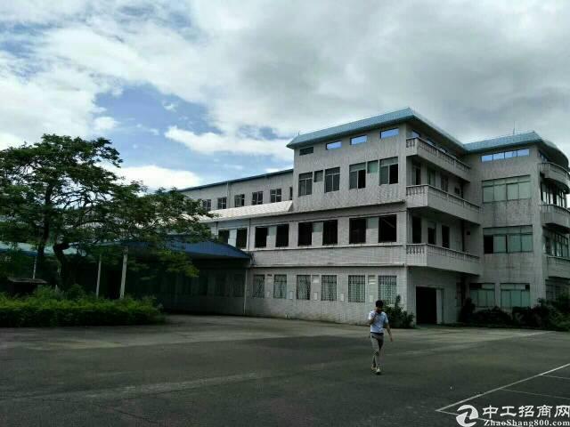 标准独院厂房一楼2000平方出租