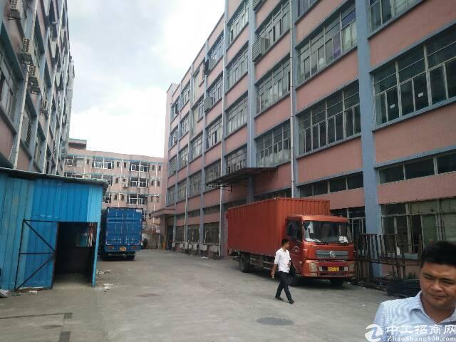 光明龙大高速出口附近新出楼上厂房2-5楼单层面积2830平方