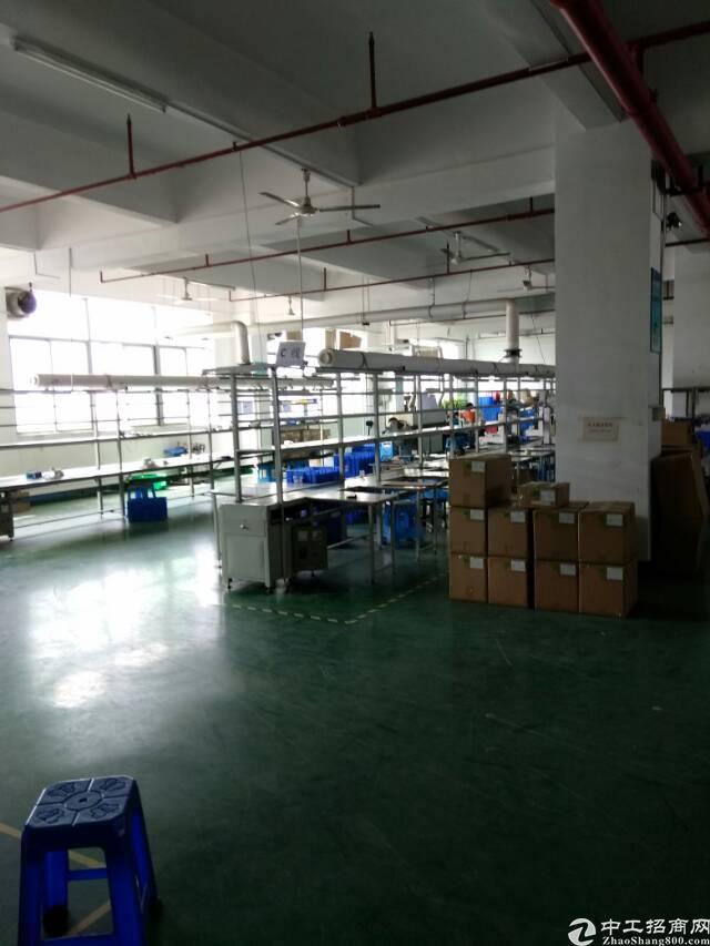 福永和平新出楼上整层2100精装厂房出租-图6