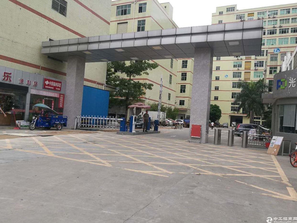 光明李松蓢高大上楼上一整层1000平方带装修厂房出租