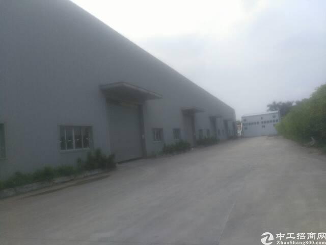 虎门赤岗单一层全新厂房出租面积4680平租9元电400kva