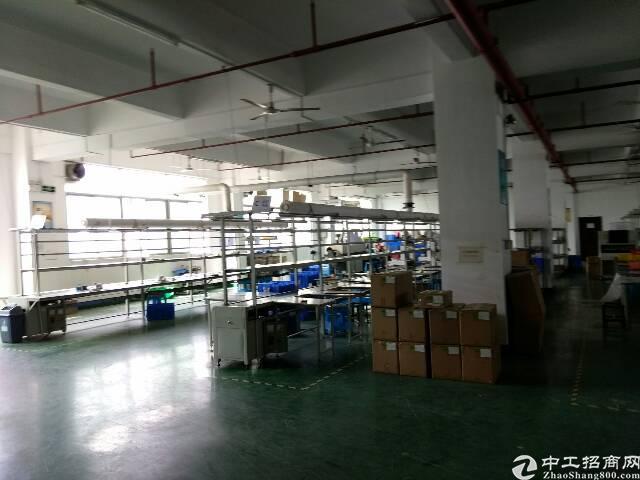 福永和平新出楼上整层2100精装厂房出租-图3