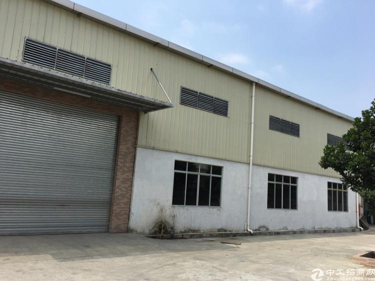 沙塘村单一层适合五金、注塑、设备等重工业1680平方米