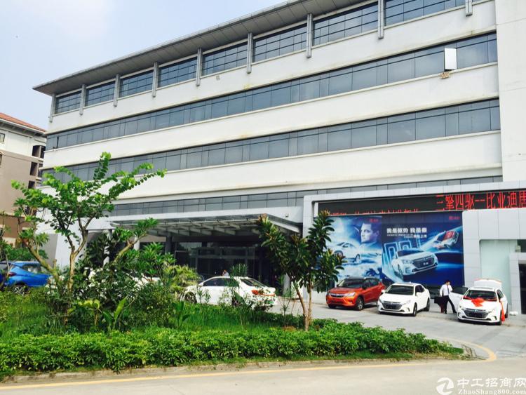坂田高大上独栋厂房7500平方米出租